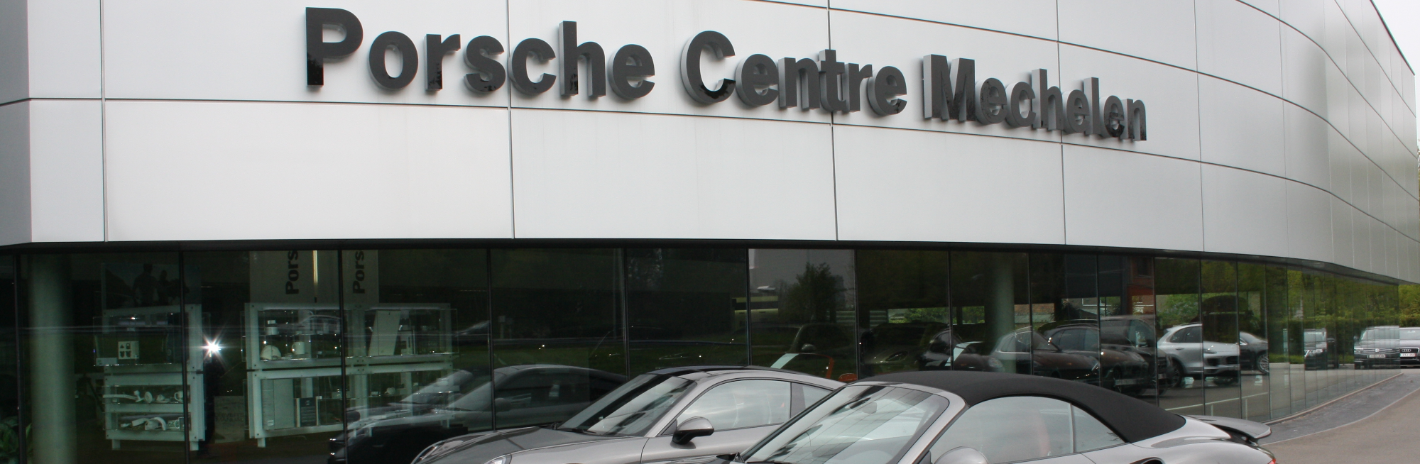Maris beveiliging Porsche Centre Mechelen